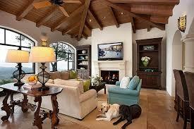 Living Room Spanish Custom Design Inspiration