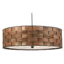 woven rattan floor lamp aboriginal shades wicker drum shade ball wood paper surprising kenroy