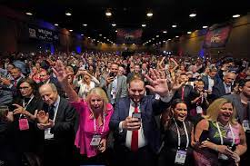CPAC: Donald Trump spins tales of ...