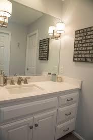 bathroom bathroom lighting ideas american standard wall. MSI Cashmere Carrara Quartz Kohler Archer Undermount Sink American Standard Town Square Faucet · SinkCarrara QuartzBath IdeasBathroom Bathroom Lighting Ideas Wall