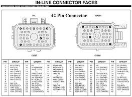 7 3 powerstroke wiring harness 7 3 powerstroke injector wiring 2000 F250 7 3 Fuse Diagrams 42 pin connector powerstrokenation ford powerstroke diesel forum 7 3 powerstroke wiring harness 7 3 powerstroke F250 Super Duty Fuse Diagram