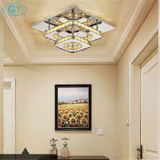 Us 6369 9 Offac100 240v Moderne Kristall Lampe Led Deckenleuchte Edelstahl Esszimmer Schlafzimmer Wohnzimmer Lampen Art Deco Hause Beleuchtung In