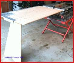 diy crosscut sled for table saw fresh portable table saws bosch or dewalt thisiscarpentry