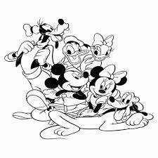 Kleurplaat Donald Duck Verjaardag Archidev Idee Donald Duck
