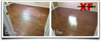 monroe hardwood floor refinishing before and after