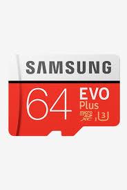 Samsung 64GB 100MB/s (U3) Microsdxc EVO Select Memory Card