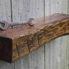 heavy hewn beam white oak floating shelf rustic rustic oak wall shelves sedentary behaviour classification