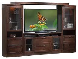 television units furniture. huxley 4piece entertainment wall unit java maple television units furniture w