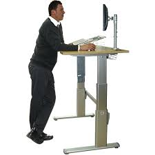 sit and stand computer desk computer stand desk astounding sit and picture ideas org 9 electric