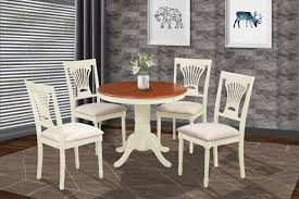 Brookline 5 Piece Small Kitchen Table And Chairs Set 42079