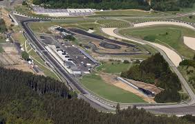 austria view red bull. An Aerial View Of The Newly-renovated Red Bull Ring Austria