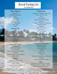 What To Pack For A Trip To Hawaii - [ Free Printable List ]