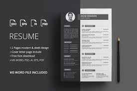 Resume Template Resume Template Design Free Download Word Amazing