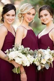 Essense Designs Bridesmaid Dresses Trend We Love Burgundy Bridesmaid Dresses