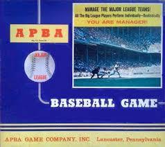 Baseball Basic Apba Baseball Basic Game Board Game Apba Games Dice Sports