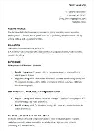 Sample Accounting Student Resume Internship Accounting Resume Sample