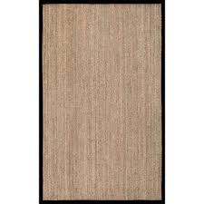 elijah seagrass with border beige 3 x 5 area rug