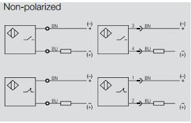 back to the basics how do i wire a dc 2 wire sensor automation polarizeddiagrams non polarized diagrams