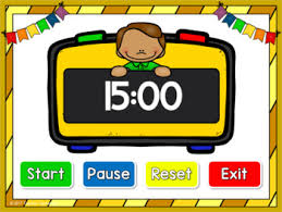 Timer Fifteen Minutes Classroom Timer 15 Minutes