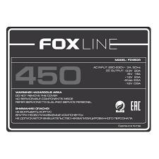 FZ450R | Fox-line