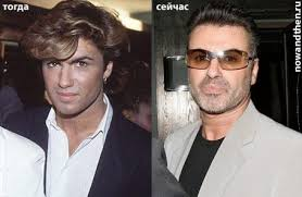 george michael then now.  Michael George Michael 23 Celebrities Then And Now 75 Pics For Michael I