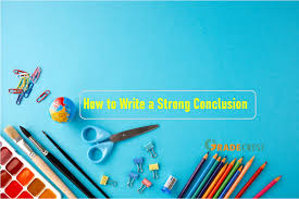 Graphic Design Essay Conclusion How To Write A Strong Conclusion To An Argumentative Essay