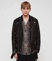 manor leather biker jacket
