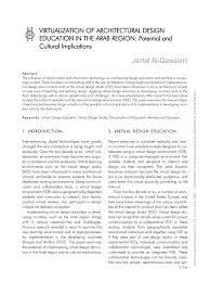 Virtualization Architecture Design Pdf Virtualization Of Architectural Design Education In The