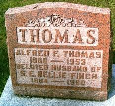 Nellie Finch and Alfred Thomas and Family | In Search of My Ancestors