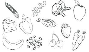 Food Coloring Pages Health Coloring Pages Coloring Pages Of Healthy