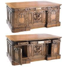 oval office desk replica. H.M.S. Resolute Desk Oval Office Replica F