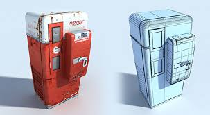 Rust Vending Machine Magnificent Vending CG Textures 48D Models From 48DOcean