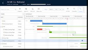 Gantt Chart With Multiple Durations Excel Gantt Chart Overview Mavenlink Support