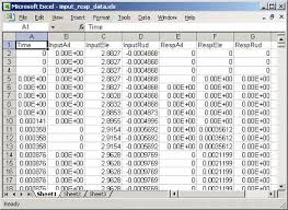 excel spread sheet read spreadsheet data using excel as automation server matlab