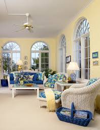 A blue and yellow sunroom for my canaries to enjoy as well as a sitting time