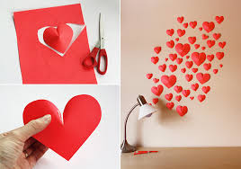 how to make girly things out of paper how to make 3d paper hearts diy crafts handimania