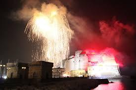 Capodanno Napoli 2019 | Fuochi d'artificio | Concerto