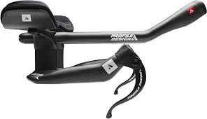 Profile Designs T4 Carbon Clip On Aerobars Profile Design Aeria Wing Carbon Aerobar System T4 42 Cm Black