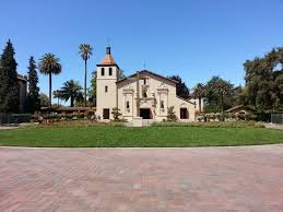 best santa clara university ideas santa clara  mission santa clara inside the santa clara university campus