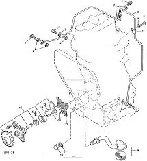 John deere parts diagrams john deere 750 tractor pc1873 oil system