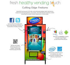 Energy Star Vending Machines Best Fresh Healthy Vending International Inc Introduces 'Smarter' Way