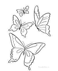 Butterfly Outline Printable Wakacyjnie Info