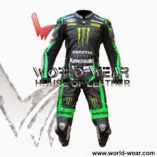 world wear com suits 1 leather motorbike suits 1 piece leather suit kawasaki tech3 2016 monster energy motorbike leather suit html