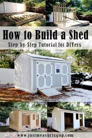 How to Build a Storage Shed from Scratch - Step-by-Step Tutorial for DIYers