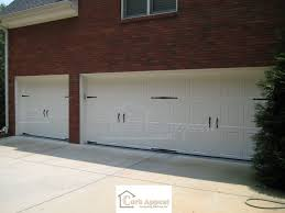 Amarr Classica Garage Doors With Decorative Hardware Curb Appeal ...