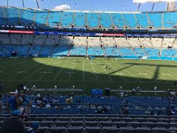 Carolina Panthers Seating Chart With Rows Bank Of America Stadium Section 344 Rateyourseats Com