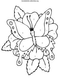 Mondo Farfalla Colorare Bimbo Da Cxedbo