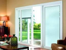 patio doors magnificent vertical blinds for door sliding between glass