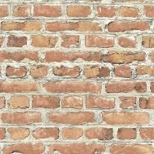 details about wallpaper red brown bricks feature wall design luxury new rasch 235203