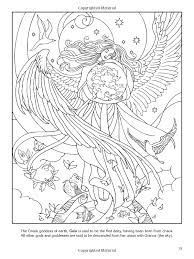 Small Picture Goddesses Coloring Book Dover Coloring Pinterest Coloring
